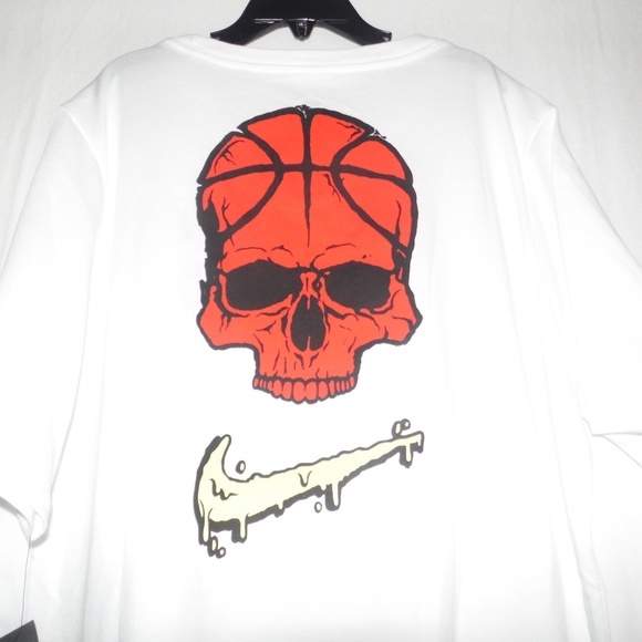 c965e7bb Nike Shirts & Tops | Dri Fit Kyrie Basketball Skull Tee Boys Xl ...
